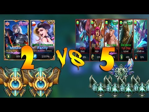 Mobile Legends 2 Glorious Legends VS 4 Grandmasters And 1 Epic