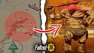 Fallout 76 | What Happens if You Nuke the Twin Lakes Location? (Secret Behemoth)