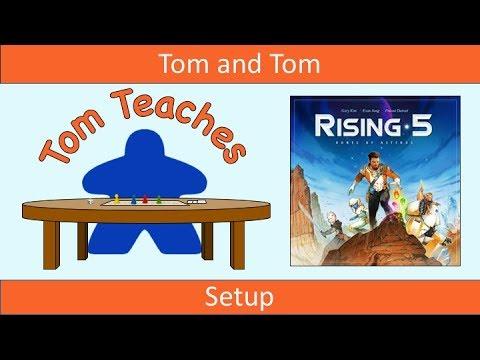 Tom Teaches Rising 5: Runes of Asteros (Setup)