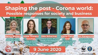 """Virtual Circular Economy event: """"Shaping the Post-Corona World: Responses for Society and Business"""""""