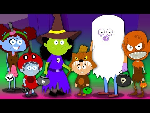 trick or treat | happy halloween song | scary rhyme for kids | halloween music for babies