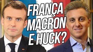 França, Macron e LUCIANO HUCK! ASSISTA E ENTENDA! | por Renan Santos | Kholo.pk