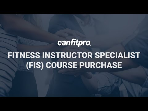 How to Order the Fitness Instructor Specialist (FIS) Certification ...