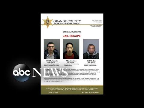 First Images Released From Brazen California Jail Break