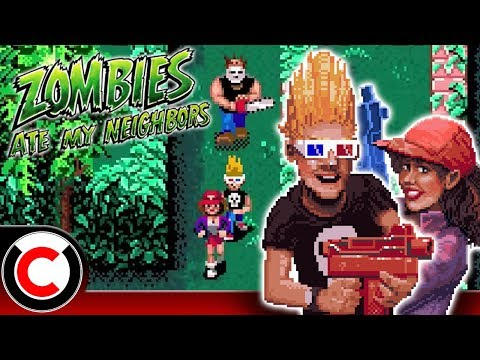 Zombies Ate My Neighbors: Not The Most Realistic Zombie Outbreak - Ultra Creepy