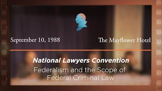 Click to play: Federalism and the Scope of Federal Criminal Law [Archive Collection]