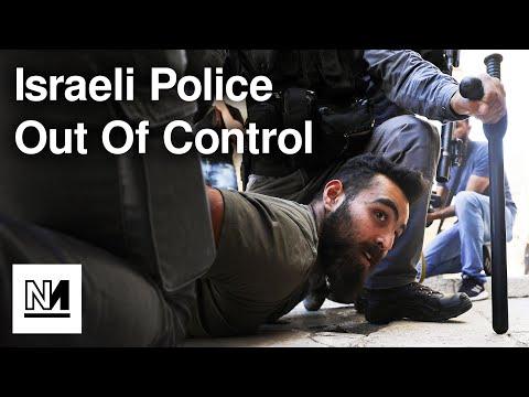 "Israeli Police Spray Palestinians With ""Rancid Water"""