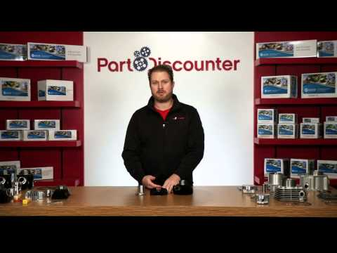 PW50 Piston Kit with Cylinder, Cylinder Head, and Gaskets