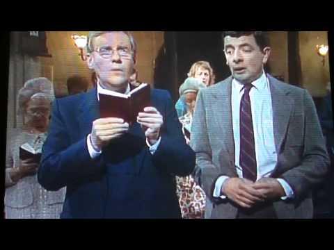 Mr. Bean - Singing at Church