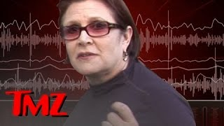 Carrie Fisher 911 Call -- Pilot Speeds up for LAX Landing | TMZ