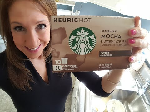 Starbucks Mocha Flavored Coffee for the Keurig   Yummy!