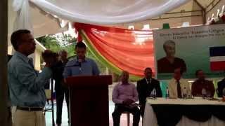 preview picture of video 'Homenaje a Francisco Rojas Zapata (Papo). Maestros meritorios de Los Hidalgos, Mamey. Abril 2014.'