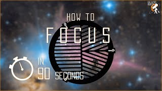 How to achieve perfect Focus in 90 seconds using a cheap Bahtinov Mask