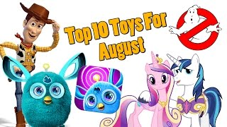 TTPM Top 10 Toys in August 2016