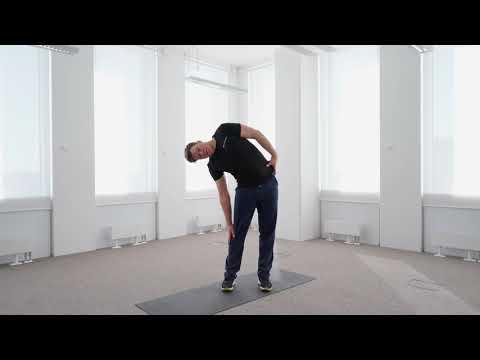 Растяжка спины — Упражнения