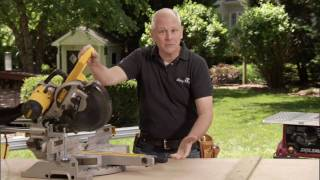 How to Use a Miter Saw - Shop Class Basics