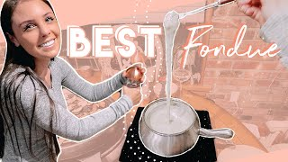 How We Make The BEST Cheese And Broth Fondue! The Melting Pots Recipes!