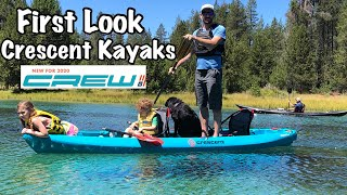 First Look: Crescent Kayaks Crew