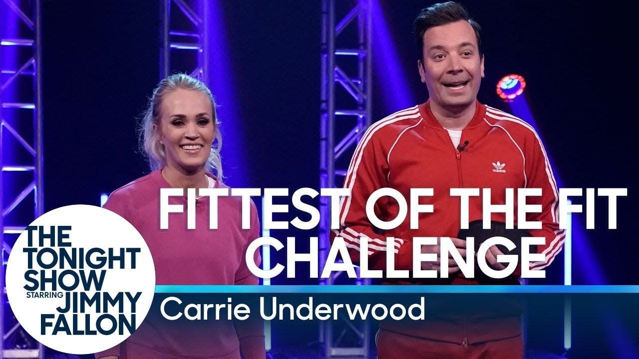 Fittest of the Fit Challenge with Carrie Underwood thumbnail
