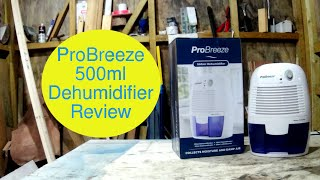 ProBreeze 500ML Dehumidifier unboxing and review