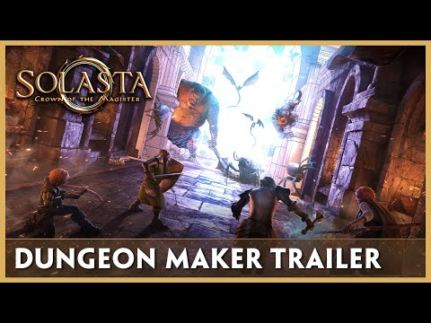 Check Out the Trailer for Solasta's Dungeon Maker