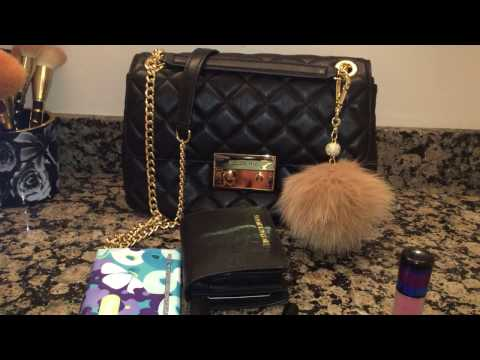 Michael Kors Large Sloan Quilted Bag in Black Review