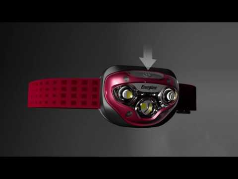 Фонарь ENERGIZER Headlight Vision HD+ Focus 3xAAA E300280701
