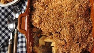 apple crisp recipe with cake mix and oatmeal