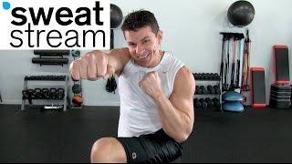 30 Minute HIIT Kickboxing Workout w/ Relentless Jake by SweatStreamTV