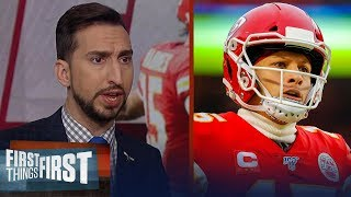 If Chiefs lose to Titans, it would be an outright failure — Nick Wright | NFL | FIRST THINGS FIRST