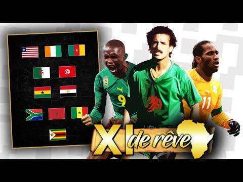 Voici le XI de rêve du football africain