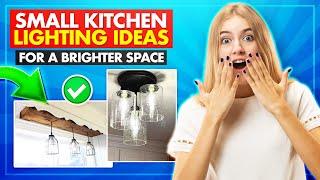 🔥 21 Small Kitchen Lighting Ideas | Jansens DIY