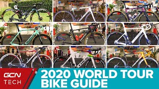 2020 WorldTour Team Bike Guide   What's New In The Peloton?