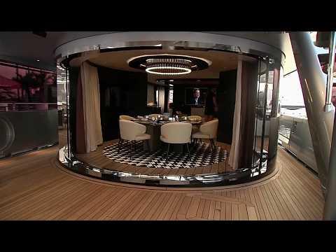 Inside Unreal $50 Million 2020 Porsche Hybrid Yacht. You Won't Believe What It Has