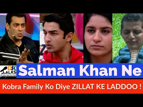 Weekend ka vaar | Salman Slammed The Kobra Family | Review part 2