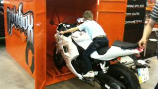 Гараж ракушка для мотоцикла своими руками