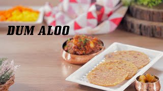 Shahi Dum Aloo And Dal Paratha Recipe | Baby Potato Curry | Big Bazaar Cook Along Live
