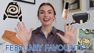 FEBRUARY FAVOURITES | clothes, beauty, and books that I'm loving