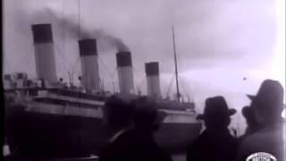 RMS Olympic - Her Last Voyage - Cunard-White Star - Jarrow -Original Footage