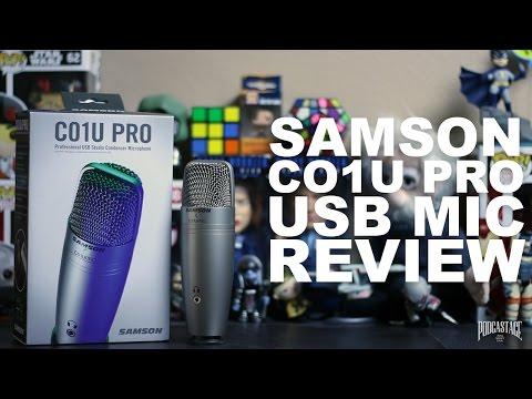 Samson C01U Pro USB Condenser Mic Review / Test