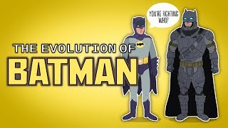 The Evolution of Batman (Animated)