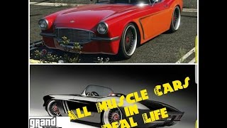 gta muscle cars vs real life - TH-Clip