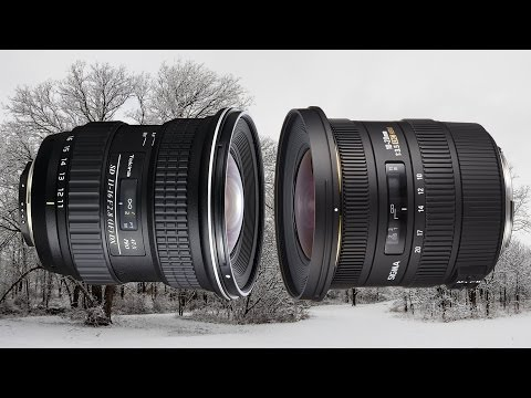 Tokina 11-16mm vs Sigma 10-20mm Ultra Wide Angle Lens UWA. Which One Do I Recommend?