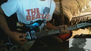 The Beatles - I'm Happy Just To Dance With You - Rhythm Guitar Cover