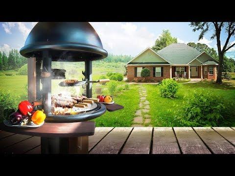 Сборка и установка Lappigrill-BBQ в беседке