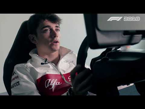 A Lap of Monaco with Charles Leclerc - F1 2018 first look