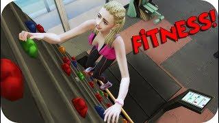 EL NUEVO CONTENIDO DE FITNESS!! #MiVi - Sims 4 Urbanitas Ep 85