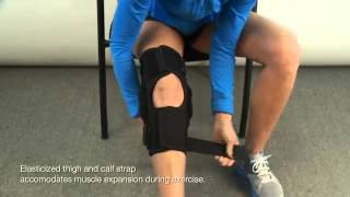 Video: Hely Weber Knapp Universal Hinged Knee Orthosis Brace #3659, 3659HH