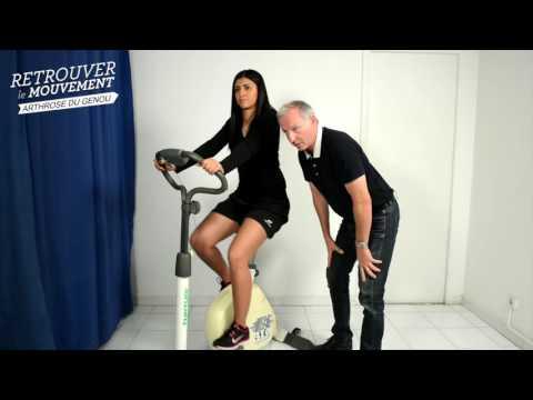 Le home-trainer le travail de tous les muscles