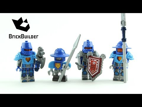 Vidéo LEGO Nexo Knights 853515 : Ensemble de construction Armée